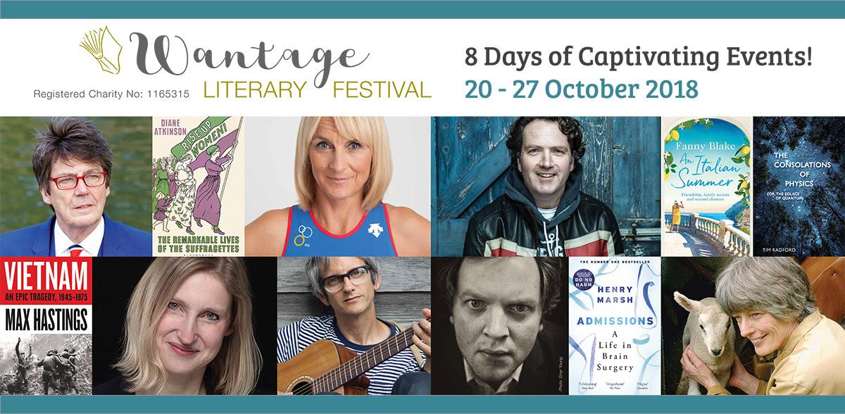 Wantage Literary Festival 2018